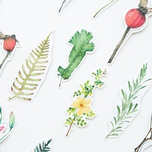 10 set/Lot Nature leaves bookmark Foliage paper book mark Stationery Office accessories School supplies signets pour livres F613