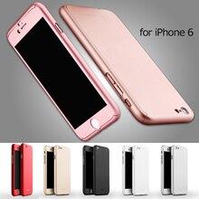 IPAKY-KASTEN für iphone 6/6 s 4,7-zoll handy Tasche Voller schutz Phone Cases für iPhone 6 4,7 Harte PC Telefon Shell Cover