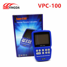 Lifetime Free Update Immo Code VPC 100 Vehicle PinCode Calculator Car Key Code Reader VPC100 SuperOBD
