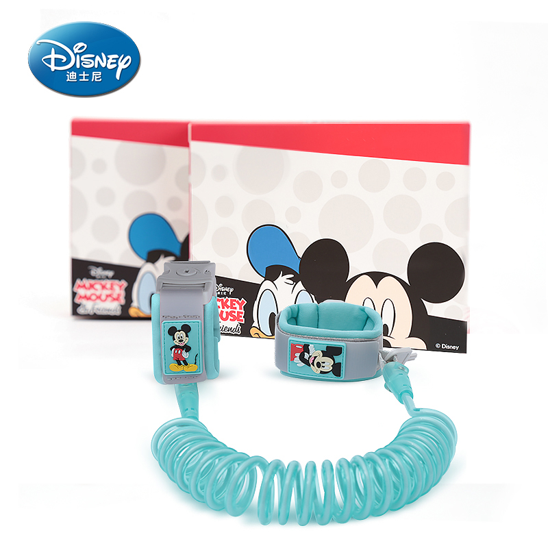 Disney Children's Traction Rope Baby Anti-lost Bracelet Anti-lost Rope 1.8meters Child Anti-lost Belt S Upgrade Models With Lock