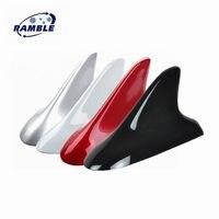 Ramble Brand For KIA K3 K4 K5 Anti Static Electricity Shark Fin Styling Car Antenna Decoration