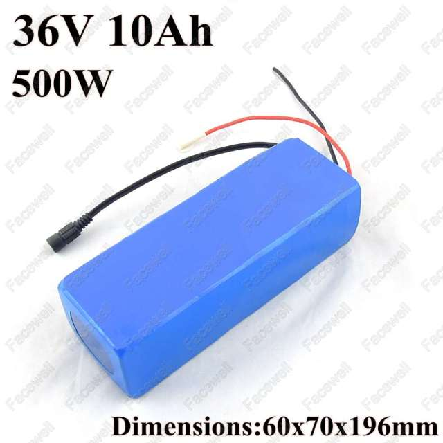 promote 36v 10ah 36v10ah 36v 500w battery 36v 10ah ion