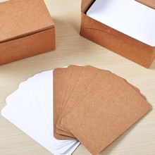 100PCS cute black white kraft paper note paper sticker pad color word message card plan sticker for notes student gifts 100pcs set blank black white kraft paper daily memo square writing memo pad set kraft paper notepads for leaving message