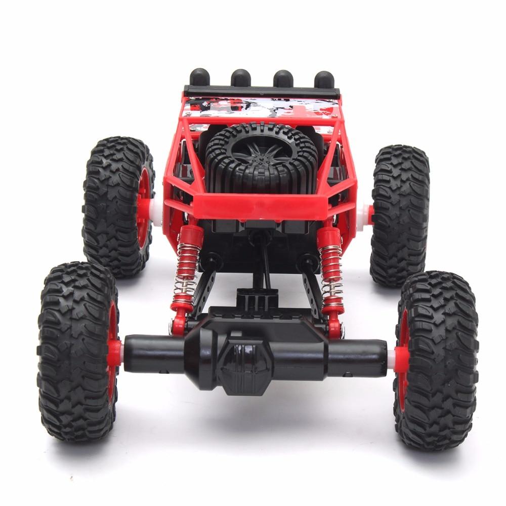 1/18 2.4G 4WD RC Racing Car Double Bug Bug Rock Rock Crawler Off-Road - დისტანციური მართვის სათამაშოები - ფოტო 3