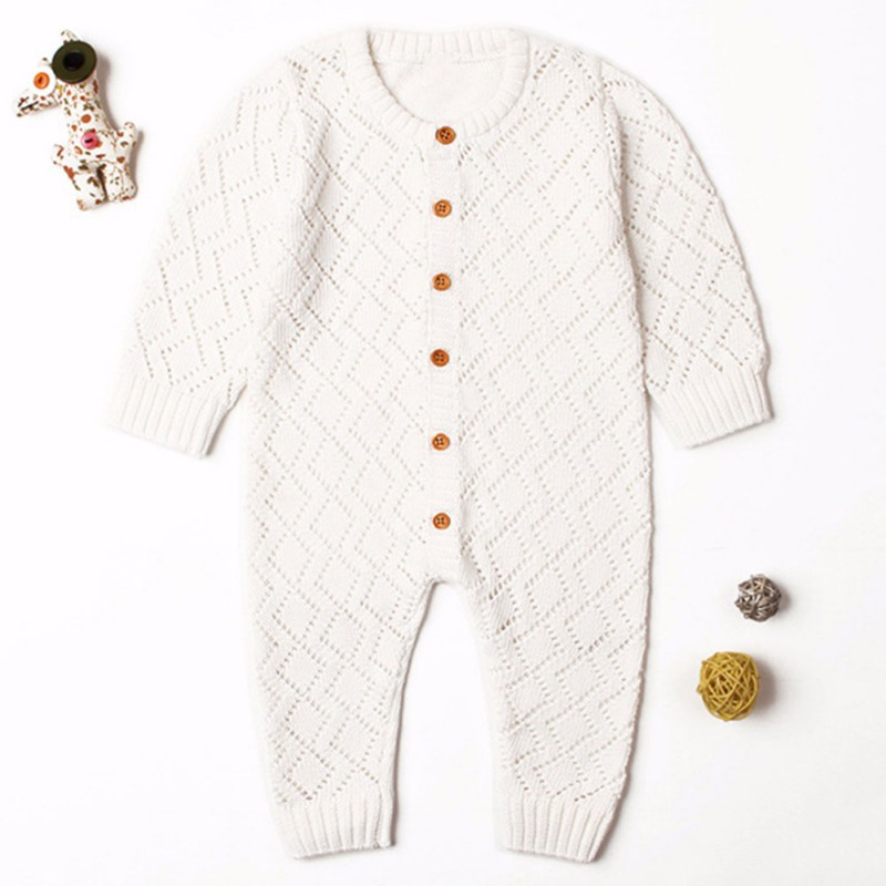 HTB1SeGtaznuK1RkSmFPq6AuzFXaV 2019 Newborn baby boy rompers Toddler Jumpsuit Girls Candy Color Knitted Baby Clothes Infant Boy Overall Children Outfit Spring