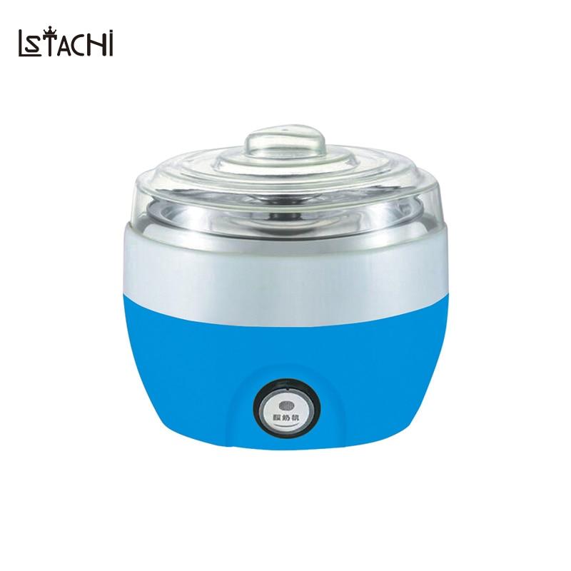 LSTACHi 800ml Household Multifunction Automatic Fermentation DIY Yogurt Maker Cheese Machine in Kicthen Appliances