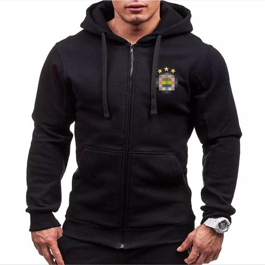 Sweatshirts Mens Coats Clothing Sportswear Hooded Custom-Logo Male Unisex 95%Cotton Fleece