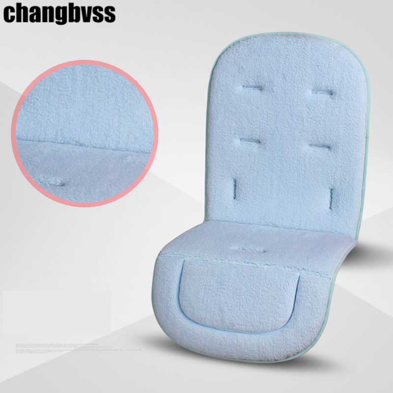 Hot Sale Baby Stroller Accessories, Baby Stroller Cushion, Solid Child Pushchair Mat,Infant Pram Pad,Baby Feeding Chair Cushion