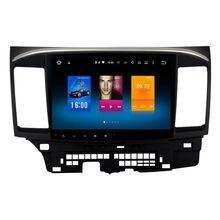 Coche 2 din GPS android para Mitsubishi Lancer navegación unidad principal autoradio multimedia 2 Gb + 32 Gb 64bit PX Android 6.0 PX5 8-Core