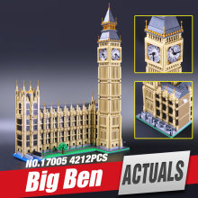lepin 17005 Creator series the Big Ben Model Building Blocks set classic Compatible 10253 Elizabeth Tower Architecture  legoe