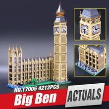 lepin 17005 Creator series the Big Ben Model Building Blocks set classic Compatible 10253 Elizabeth Tower Architecture  legoe