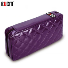 BUBM CD DVD bag case wallet trainborn household cd handbag large capacity 64pc cd package purple