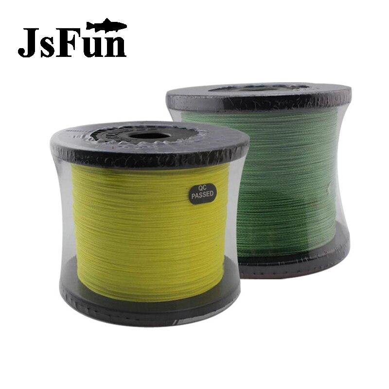 JSFUN 300M/327Yard Braided fishing <font><b>line</b></font> Multifilament fishing <font><b>line</b></font> 8 wire 10LB 20LB 30LB 50LB 60LB 100LB fly <font><b>line</b></font> 8 Color FL105