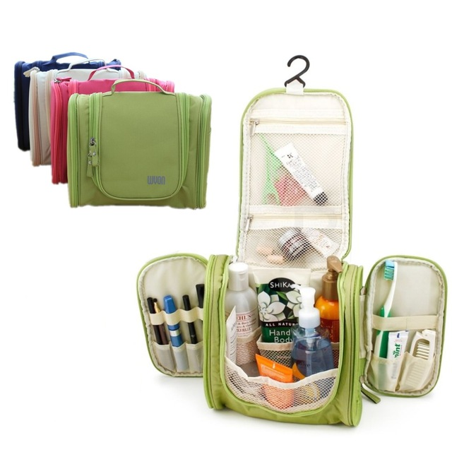 2017 Hot Sale!Large Hanging Travel Man Deluxe Toiletry Bag Ws