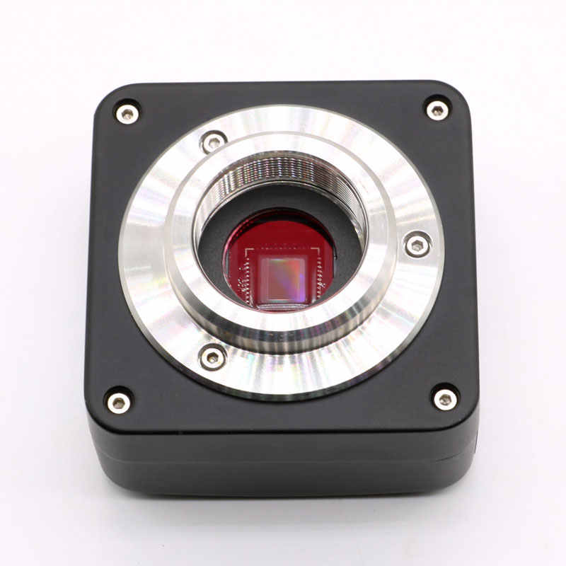 Mercury/_Group 5MP 10MP 14MP USB 2.0 High Speed Industrial Camera CCD HD Electronic Eyepiece C-Mount Adapter CMOS Microscope Camera Color:3MP