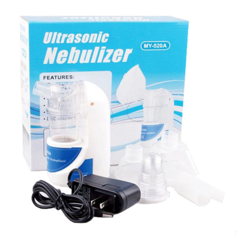 Health Care Handhold Asthma Inhaler Mini Automizer Care Inhale Ultronsonic Nebulizer 110V/220V Home Ultrasonic Nebulizer MP0074 cofoe portable ultrasonic nebulizer medical home health care portable inhaler mini dolphins cartoon designed 2017 free shipping