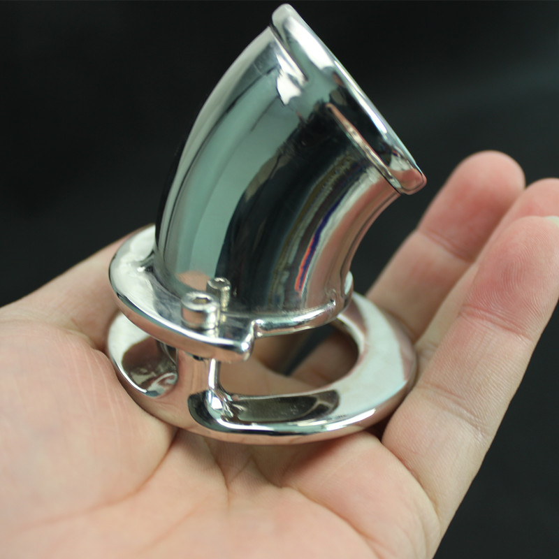 Light Stainless Steel Front End Open Type Chastity Cage Convenient to Clean Chastity Devices Penis Pendant Sex Toy B2-2-92 все цены