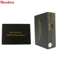 30M HDMI Splitter Repeater HDMI Extender Signal Amplifier Booster Adapter 4K/2K 60Hz HDMI Switch Converter Hub for HDTV DVD