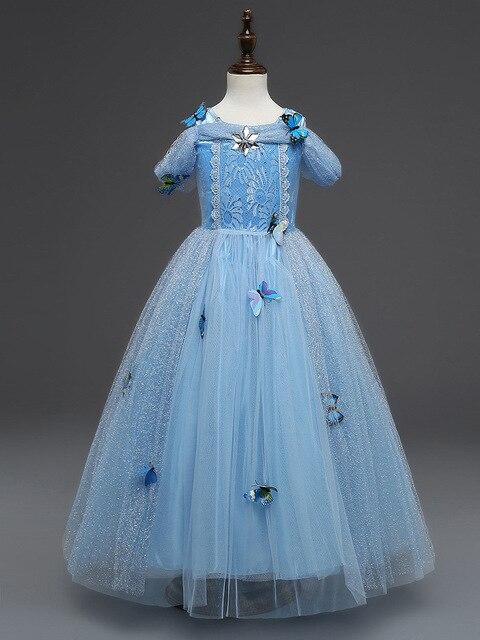 Fantasie Cinderella Prinzessin Kleid Mädchen Kleider Für Baby Kinder ...