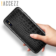 Retro Vintage Phone Bag Case For Iphone X 6 6s 7 8 Plus Crocodile Snake Skin Pattern Soft Protective Cover Shell iphoneX 10