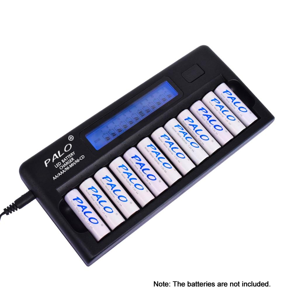 PALO PL NC30 inteligentna ładowarka baterii wyświetlacz LCD
