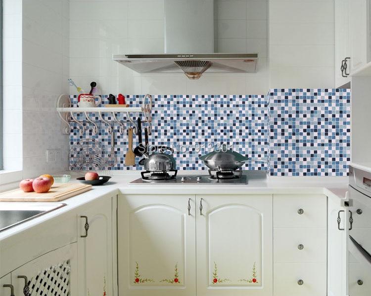 Azulejos de cocina baratos cocina rstica de cemento with for Pegatinas azulejos cocina