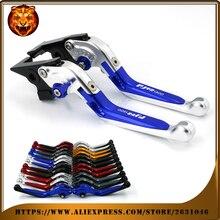Motosiklet ayarlanabilir katlanır uzatılabilir fren debriyaj kolu yamaha fjr 1300 için FJR1300 04 05 06 07 13 11 12 KıRMıZı ÜCRETSIZ KARGO