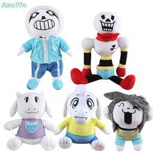 Stuffed Toy 5 Styles Undertale Toys Papyrus Frisk Asriel Napstablook Toriel Temmie Sans Undertale Plush Toy Soft Toys for Kids