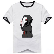 High-Q Unisex Japan Anime Cos SCP T-Shirt Tee Speciale Containment Procedures Katoen Casual T-Shirt Tee Top SCP T-Shirt(China)