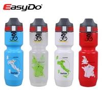 Easydo Large Capacity 750ml Mountain Bike Water Bottle Sports Cycling Cups Mtb Bicycle Kettle Tour De