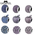 GAGAFEEL 925 Sterling Silver Beads Fit For Original Pandora Charms Necklace Chain Bracelet Dazzling Loose Beads Diy Jewelry