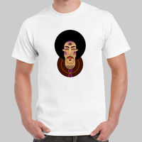 Prince Rogers Nelson Third Eye CU See You White And Purple T Shirt USA Size O