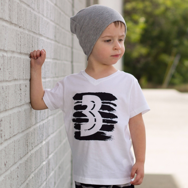 Summer Baby Boys T Shirts White Black Shirts Children Clothes Kids Baby Child Tops Clothing Tops Tees  1 4 Years First  Birthday одежда на маленьких мальчиков