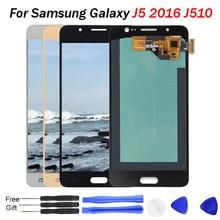 Display J5 Pro For samsung j5 2016 display J510 J510F J5108 J510FN OLED Screen Digitizer Assembly for j510 oled LCD
