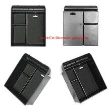 Нескользящий центральный подлокотник контейнер укладка холодильник Коробки Крышка коврик для toyota Land Cruiser Prado FJ 120 2003-2009 аксессуары
