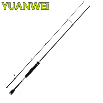 YUANWEI Lure Rod 1.8m 2.1m 99% Carbon Hard 2 Sections Vara De Pesca Carpe Fish Pole Canna Da Pesca Spinning Rod Stand Peche