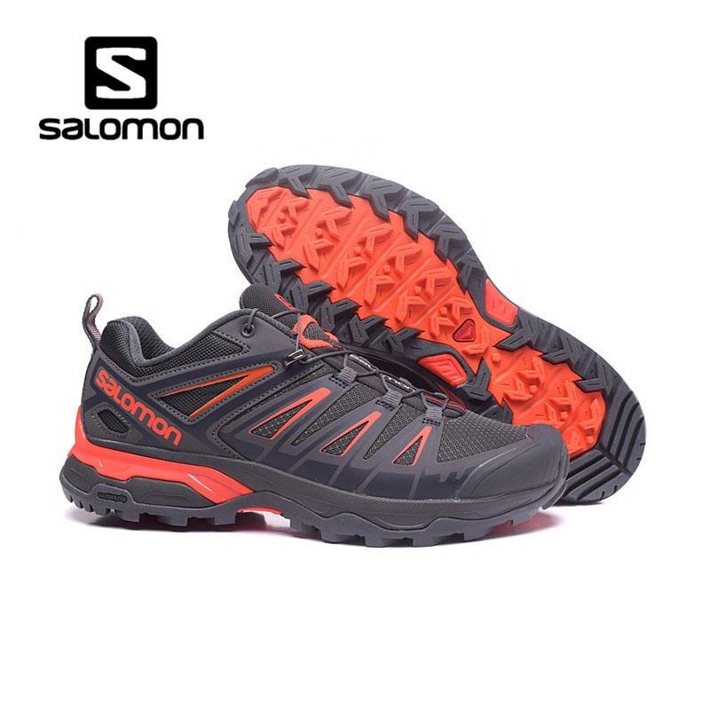 Salomon SpeedCross Hommes chaussures de Course En Plein Air chaussures Respirant Sneaker lace-Up Sport jogging marche chaussures 7 couleur