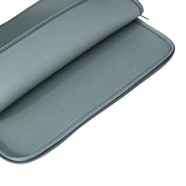 "BinFul Neoprene laptop notebook case Women Men sleeve Computer Pocket 11""12""13""15""15.6"" for Macbook Pro Air Retina Carry 14 inch 2"