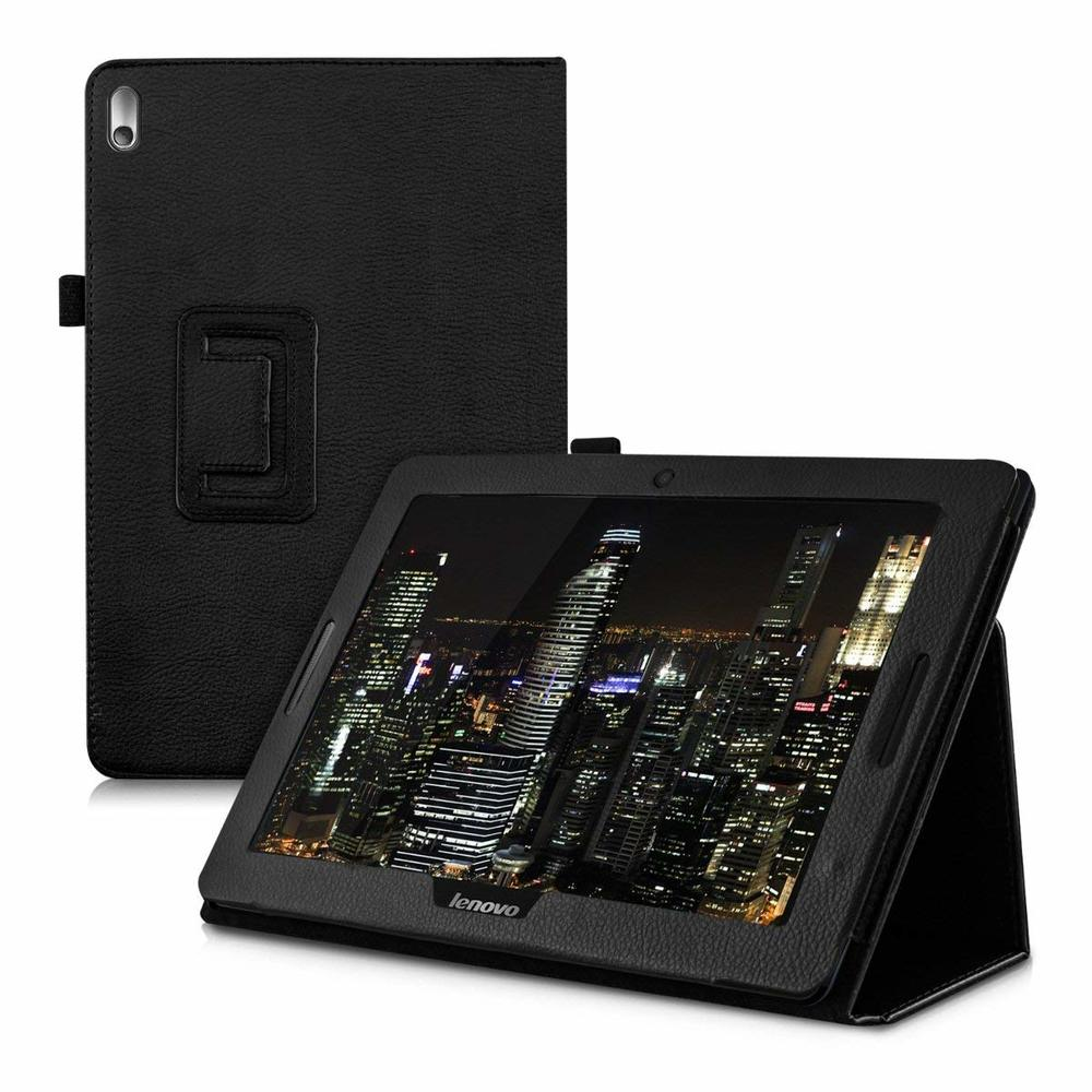 Flip Stand Abdeckung Tablet Fall Für Lenovo Tab A10-70 A7600 A7600F A7600H A7600HV B0474 PU Leder Fall für Lenovo A7600 a10-80h
