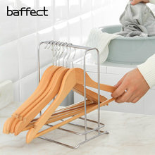 Baffect Multiuse Organizr For Clothes Hangers Metal Stainless Steel Large Capacity Storage Rack Desktop Standing Type Shelf
