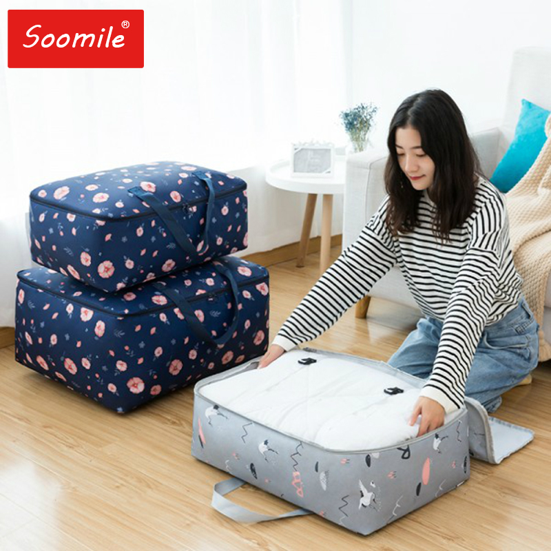 2019 New Foldable Travel Bag Women Large Capacity Portable Shoulder Duffle Bag Cartoon Printing Waterproof Weekend Luggage Tote