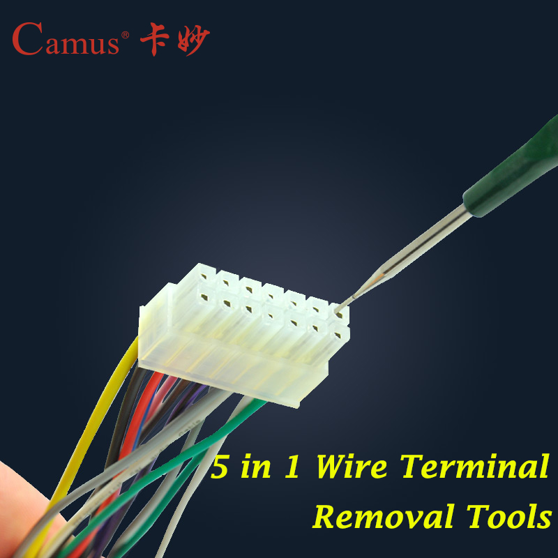 aliexpress com buy shipping 5 in 1 automotive wiring aliexpress com buy shipping 5 in 1 automotive wiring harness terminal removal tools terminal disassembling tool terminal release tool from