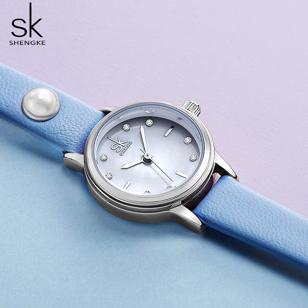 Shengke Women Watches Brand Fashion Quartz-watch Women's Wristwatch Clock Relojes Mujer Dress Ladies Watch Business Montre Femme
