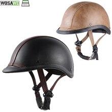 цены Bicycle mtb Half Face Vintage Helmet Hat Cap Men/Women child Motorcross Moto Racing Scooter Capacete World War II Retro Helmets