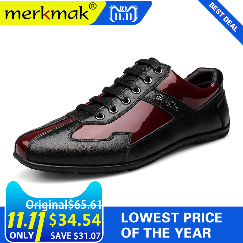 Luxury Brand Fashion Genuine Leather Men Shoes 2018 New Leather Men Casual Shoes High Quality Plus Size 36-48 Flat Shoes For Men shoes men fashion men casual shoes plus size 47 genuine leather men flat shoes best quality zapatos hombre lace up chaussure
