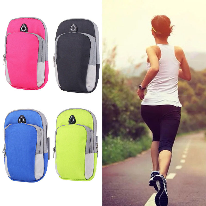 Sport Armband Case Running Bags Sports Gym Jogging Mobile Phone Arm Bag Pocket Package Men Women Armbag Package Outdoor Climbing