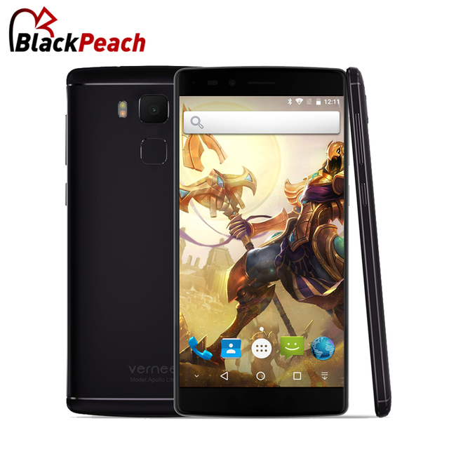 "Vernee Apollo lite 4G Mobile Phone 5.5"" FHD MTK6797 Deca Core Android 6.0 4GB RAM 32GB ROM 16MP CAM Fingerprint ID Smartphone"
