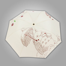 My Neighbor Totoro – Super Cute White Folding Umbrella