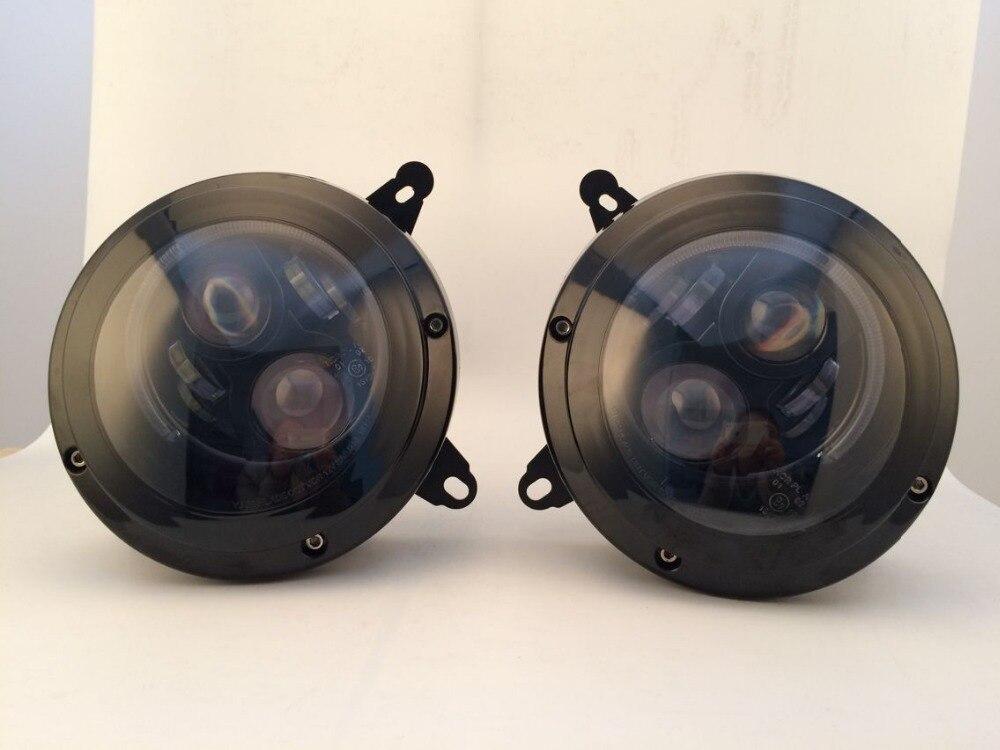 Высокое качество 75 Вт 6000K Hi/Lo луч фары лампы pulg in play для Jeep Патриот светодиодный фонарь для свободы 11 15 лет