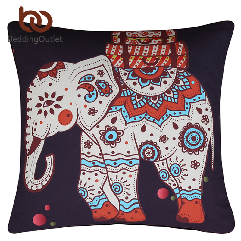 Geometry Indian Decorative Pillow Cushion Covers Sofa Cushions Home Decoration No Inner China Mainland
